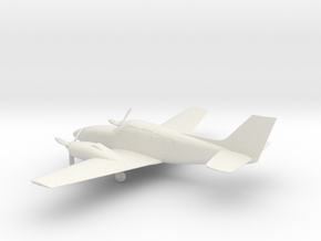 Beechcraft Baron G58 in White Natural Versatile Plastic: 1:72