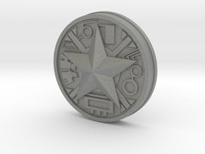 Zeo Ranger Legacy Power Coin in Gray PA12