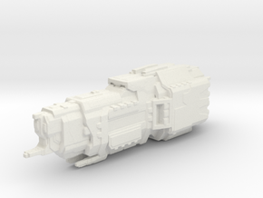 UNSC Valiant Super Heavy Cruiser in White Natural Versatile Plastic