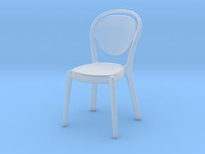 Miniature Parisienne Chair - Capellini in Smooth Fine Detail Plastic: 1:12