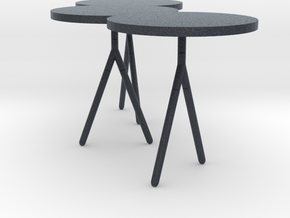 Miniature Itisy Table - Ligne Roset in Black Professional Plastic: 1:12