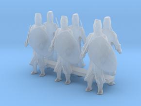 1-87 short templar knights in Smooth Fine Detail Plastic