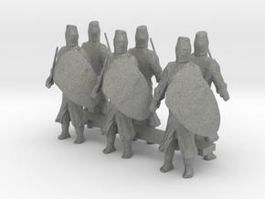 1-87 short templar knights in Gray Professional Plastic