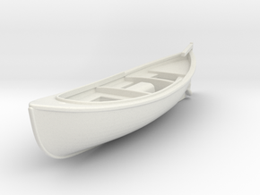 1/72 USN 26 foot Type H Motor Surfboat in White Natural Versatile Plastic