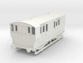 o-100-ger-wisbech-4w-brake-coach-no16-1 in White Natural Versatile Plastic