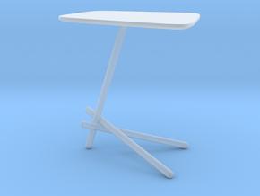 Miniature Coffee Table Laser - Cattelan Italia in Smooth Fine Detail Plastic: 1:12