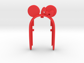 MINIE MOUSE #a4 in Red Processed Versatile Plastic