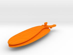 Kronos Nepos Wing Pair in Orange Processed Versatile Plastic