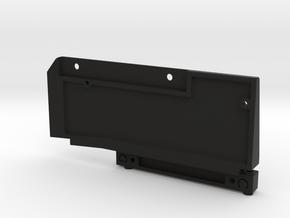 Right Side K5 Blazer Mount Set SCX10ii in Black Natural Versatile Plastic
