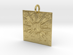 Unity Of Religions For World Peace in Natural Brass: Large