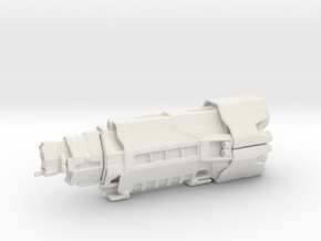 Halcyon Class (Re-Sized) in White Natural Versatile Plastic