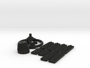 Wellcraft SC38 Fitting Set I in Black Premium Versatile Plastic: 1:8