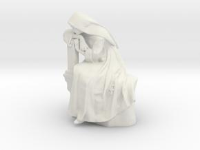 Printle V Femme 1076 - 1/32 - wob in White Natural Versatile Plastic