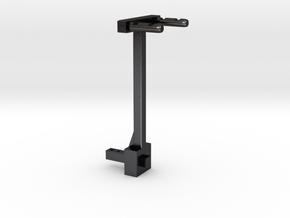 1/10 Scale - Hitch Mount Bike Rack in Polished and Bronzed Black Steel