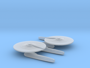USS Mayflower NCC-1621 1/20000 in Smooth Fine Detail Plastic