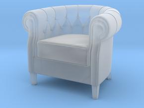 Miniature Queen Armchair - Natuzzi Italia in Smooth Fine Detail Plastic: 1:12