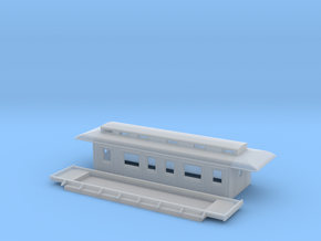 BC3 - Swedish passenger wagon in Smooth Fine Detail Plastic