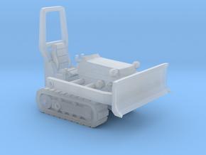 1/87 Scale Mini Dozer in Smooth Fine Detail Plastic