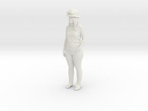 Printle C Femme 1125 - 1/32 - wob in White Natural Versatile Plastic