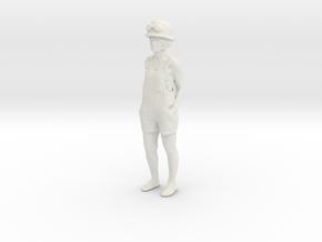 Printle C Femme 1126 - 1/32 - wob in White Natural Versatile Plastic