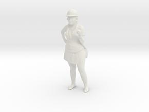 Printle C Femme 1132 - 1/32 - wob in White Natural Versatile Plastic