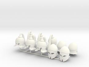 ETHAN 6  in White Processed Versatile Plastic