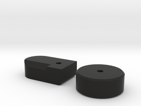 PPSH Mag Adaptor Lock Parts in Black Natural Versatile Plastic