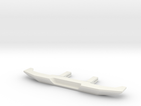 VS4-10 VS410 Rear Bumper  in White Natural Versatile Plastic