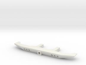 VS4-10 VS410 Rear Bumper Tow in White Natural Versatile Plastic