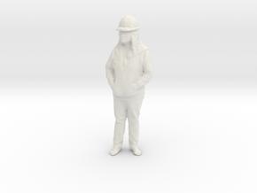 Printle C Femme 1135 - 1/32 - wob in White Natural Versatile Plastic