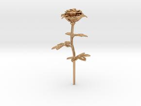 Rose in Natural Bronze