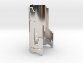 Graflex Mentor - Var2 Part15 - Cover Plate 1 in Rhodium Plated Brass