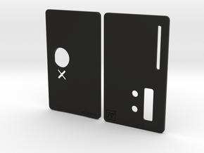 Sportello Billet Box Rev4  variante 2 in Black Natural Versatile Plastic