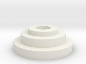 IMPERIAL CODE DISC in White Natural Versatile Plastic