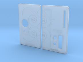 Sportello Billet Box Rev4  variante 9 in Smooth Fine Detail Plastic