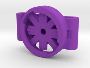 Unofficial Varia Bicycle Taillight Saddle Bag Clip in Purple Processed Versatile Plastic