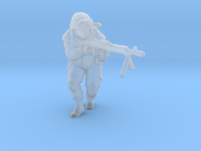 Soldier 7 no base (1:64 Scale) in Smooth Fine Detail Plastic