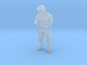 Soldier 9 no base (1:64 Scale) in Smooth Fine Detail Plastic
