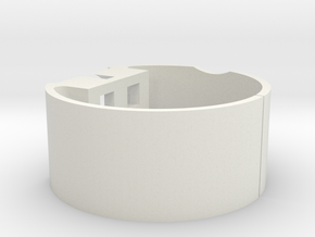 BYPH 27mm ID suport in White Natural Versatile Plastic