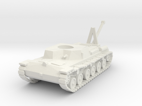 Japanese WWII SE-RI Support Recovery Tank 1/72 in White Natural Versatile Plastic