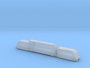 panzerzug 64 1/160 panzerlok armoured train  in Smooth Fine Detail Plastic