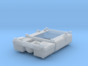 F Unit O Scale Fuel Tank in Smooth Fine Detail Plastic