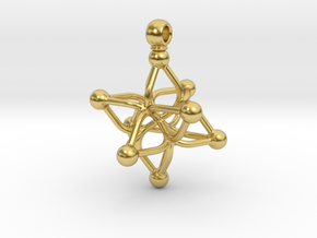 ANICE in Polished Brass