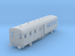 0-148fs-lner-clayton-railcar-trailer-1 in Smooth Fine Detail Plastic