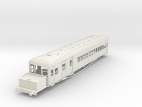o-76-lner-clayton-steam-railcar-d92 in White Natural Versatile Plastic