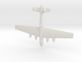 1:144  Dornier-19 in White Natural Versatile Plastic