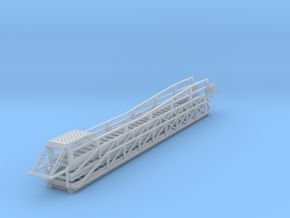 HO Sign Truck Extension Ladder (Sponco IH55-69) in Smooth Fine Detail Plastic