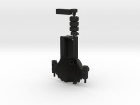 Clam Dipler in Black Natural Versatile Plastic: Small