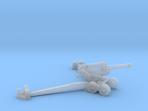 1/144 Obice da 210/22 210mm Howitzer in Smooth Fine Detail Plastic