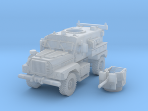 MRAP cougar 4x4 scale 1/144 in Smooth Fine Detail Plastic